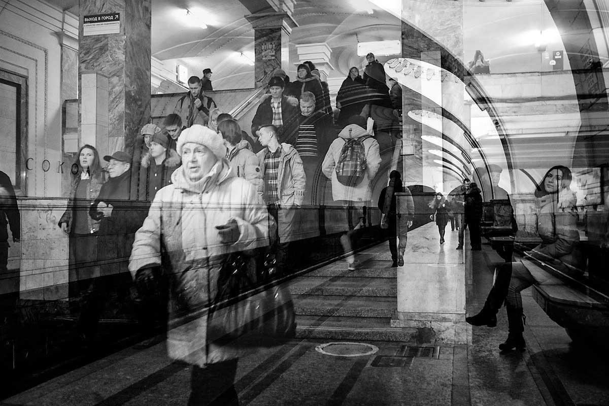 Underground Moscow - Berlin | Birka Wiedmaier