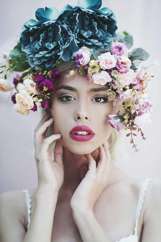 Floral-girl
