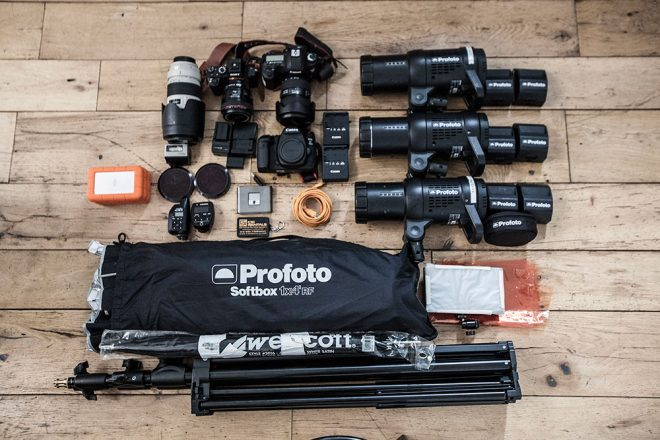 Inside the camera bag of Karolina Wojtasik