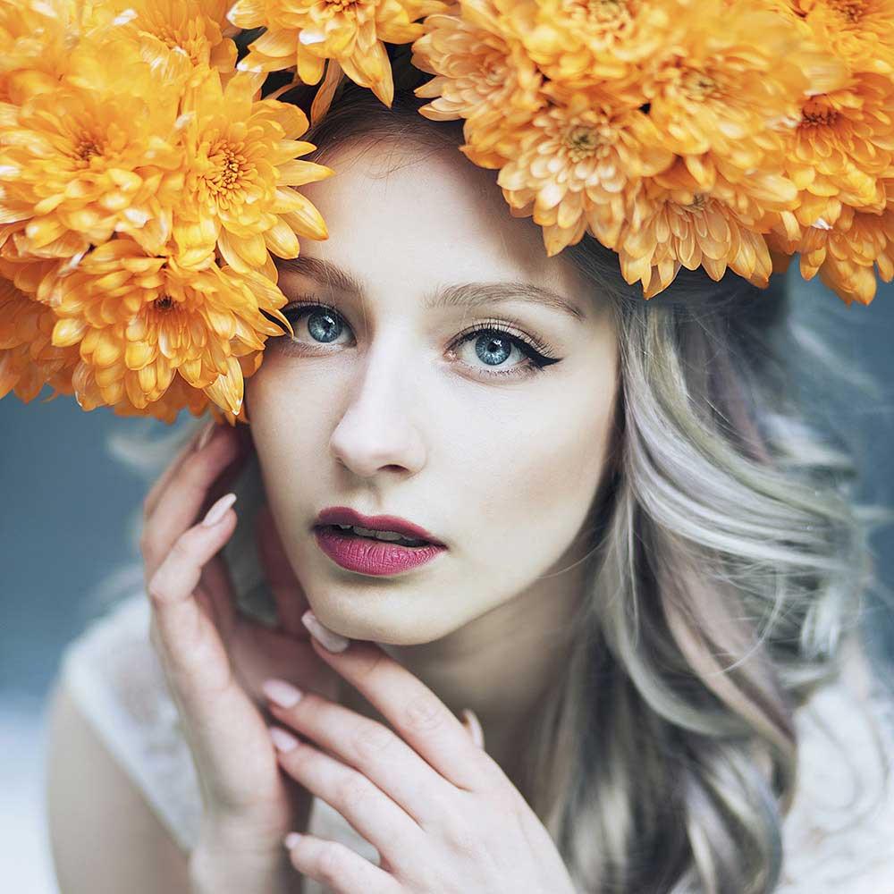 Orange-crown