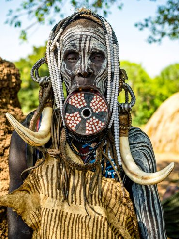 The Beauty Of The Women Of Omo Tribes | Omar Reda