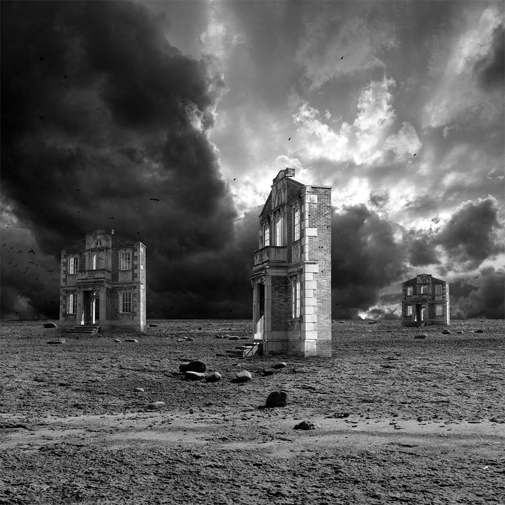 Wasteland of the Facades | Surrealism in Black & White | Marc Ward