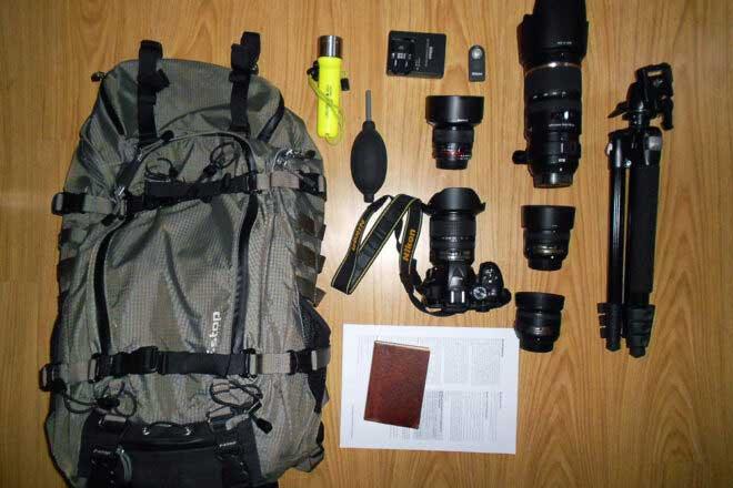 Inside the Camera Bag of Alex Righetti
