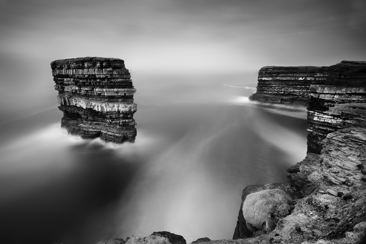 Offshore-stack,-Dun-Briste