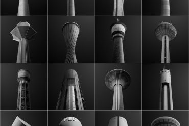 Water towers of Luxembourg : A Pictographic Study by Gediminas Karbauskis