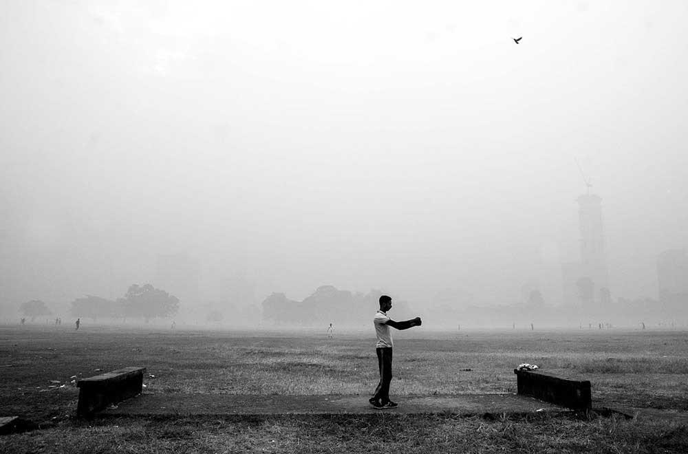 Wandering amidst the urban jungle by Jit Rakshit