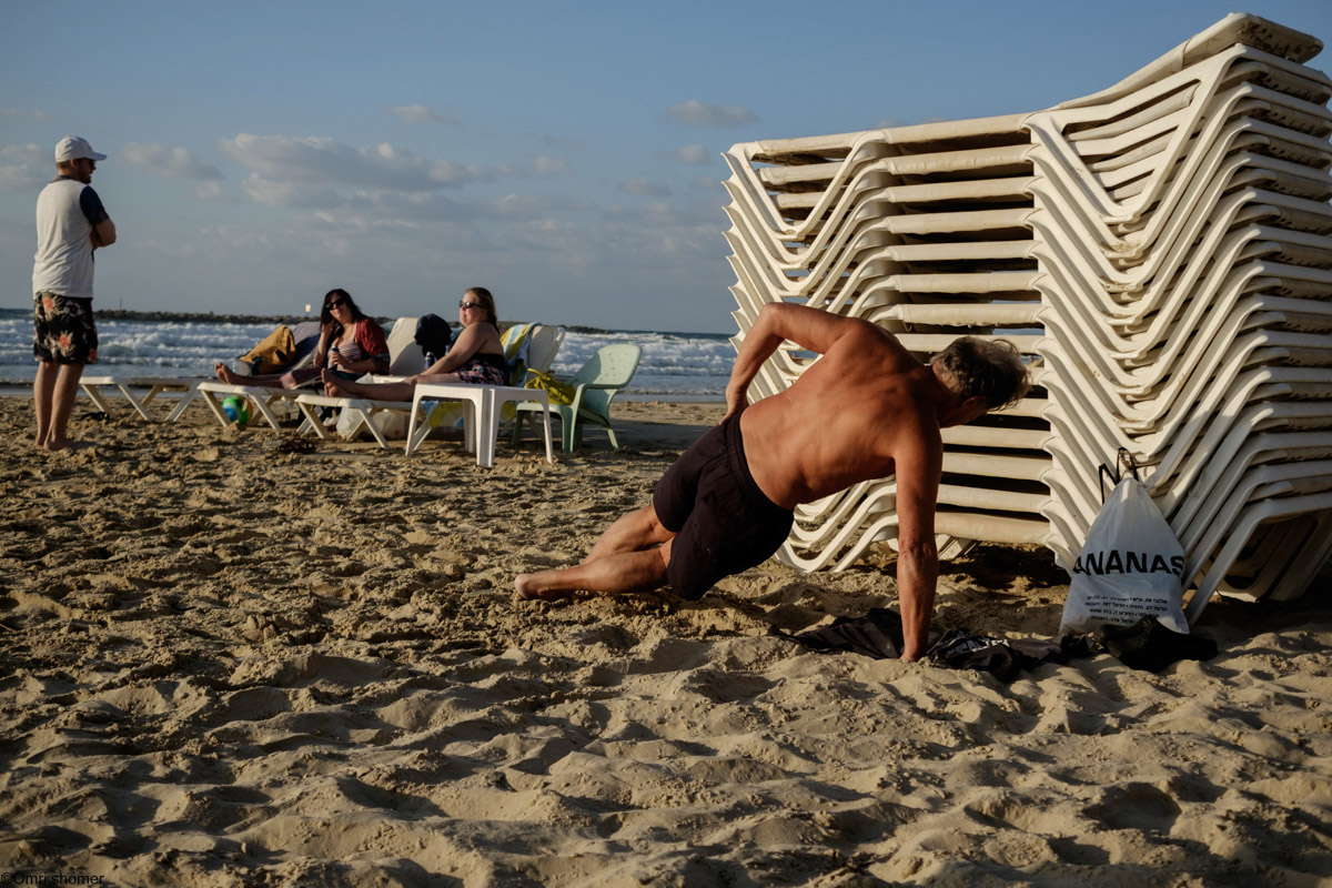 Omri Shomer | Beach of Tel Aviv
