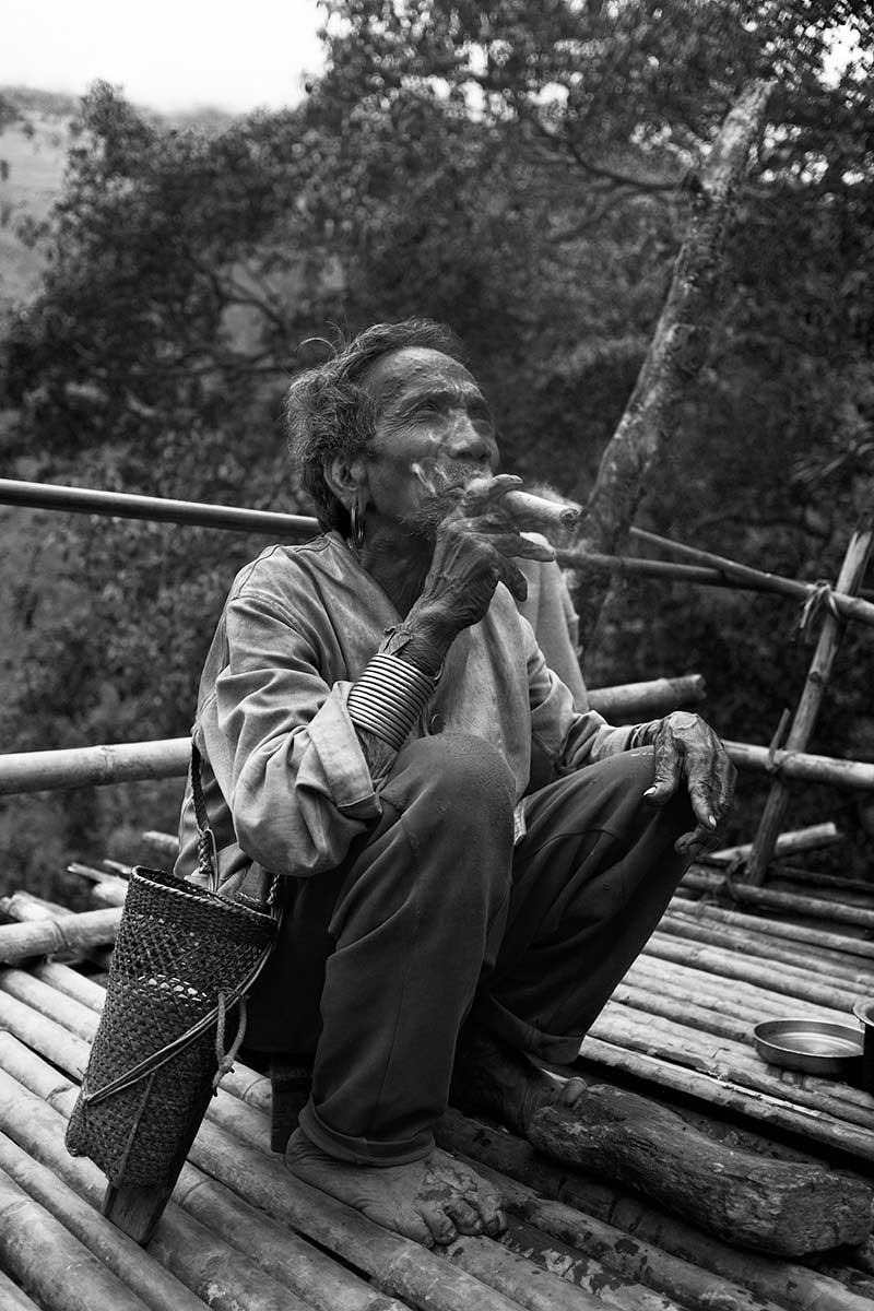 Myanmar Chin tribe facial tattoos | Tim Yare