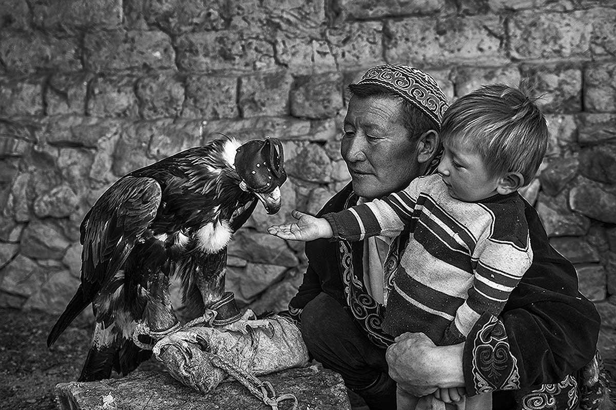 Kazakh eagle hunters & Golden eagle festival | Sanghamitra Sarkar