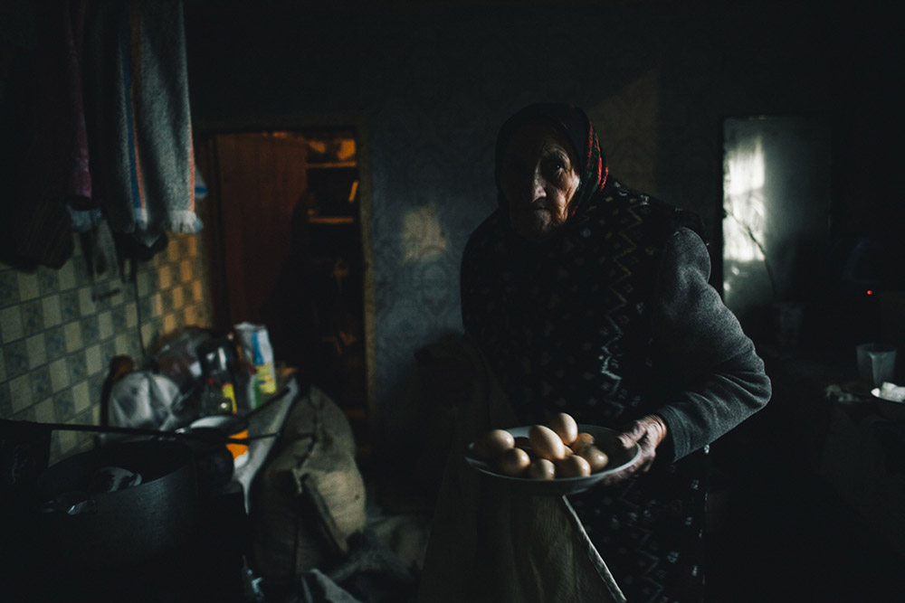 """I fear no radiation, the only thing I fear is the Nazis,"" says Praskovia Afanasievna, an elderly inhabitant of the Belarusian exclusion zone."