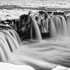 Winter at Godafoss