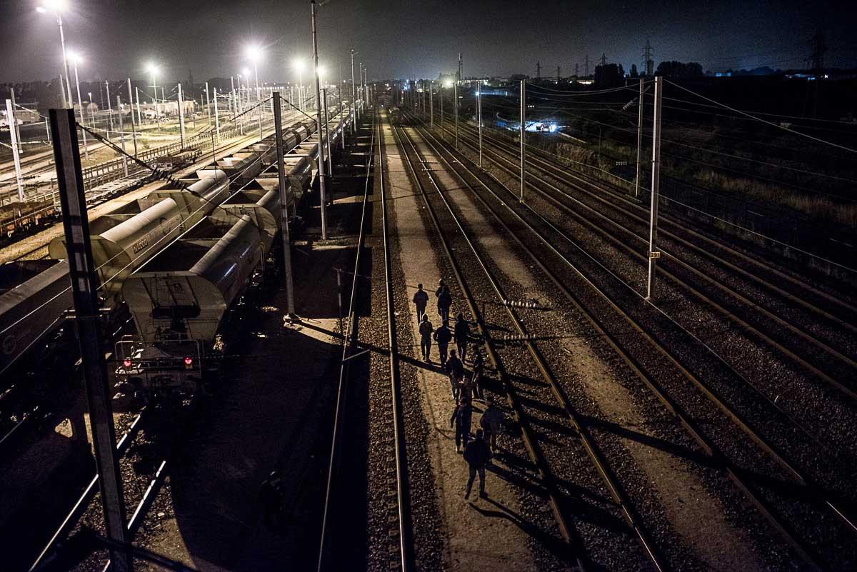 Calais Jungle | István Bielik
