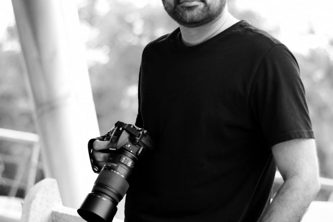 Aquin Mathews director of Indian Photography Festival