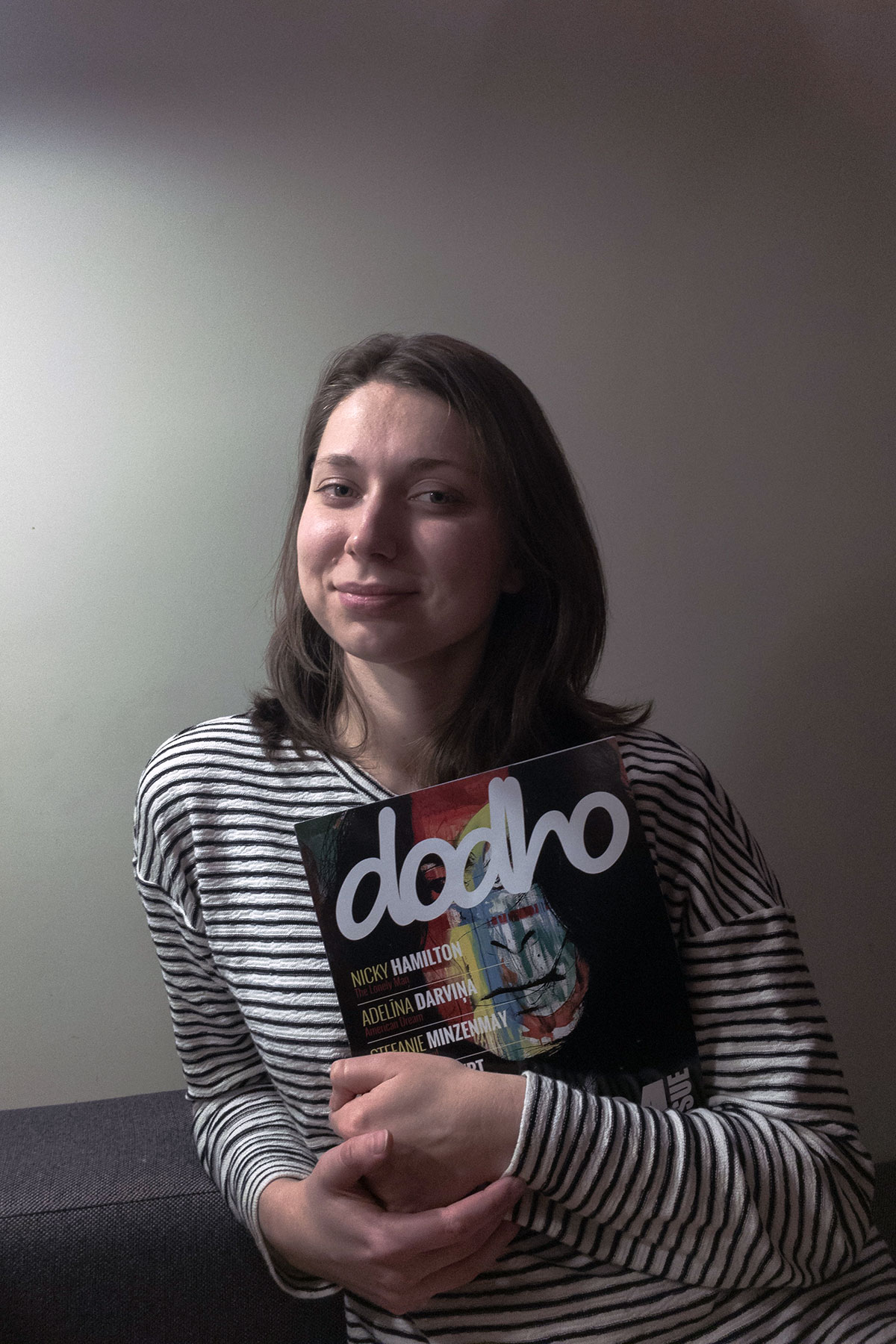 Interview with Adelīna Darviņa