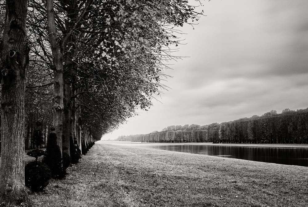 Serenity in the gardens of Versailles by Gregoris Mentzas