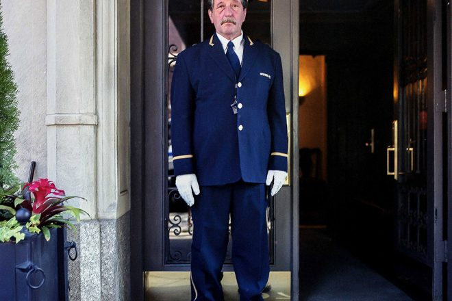 Doormen from Park Avenue New York City by Sam Golanski