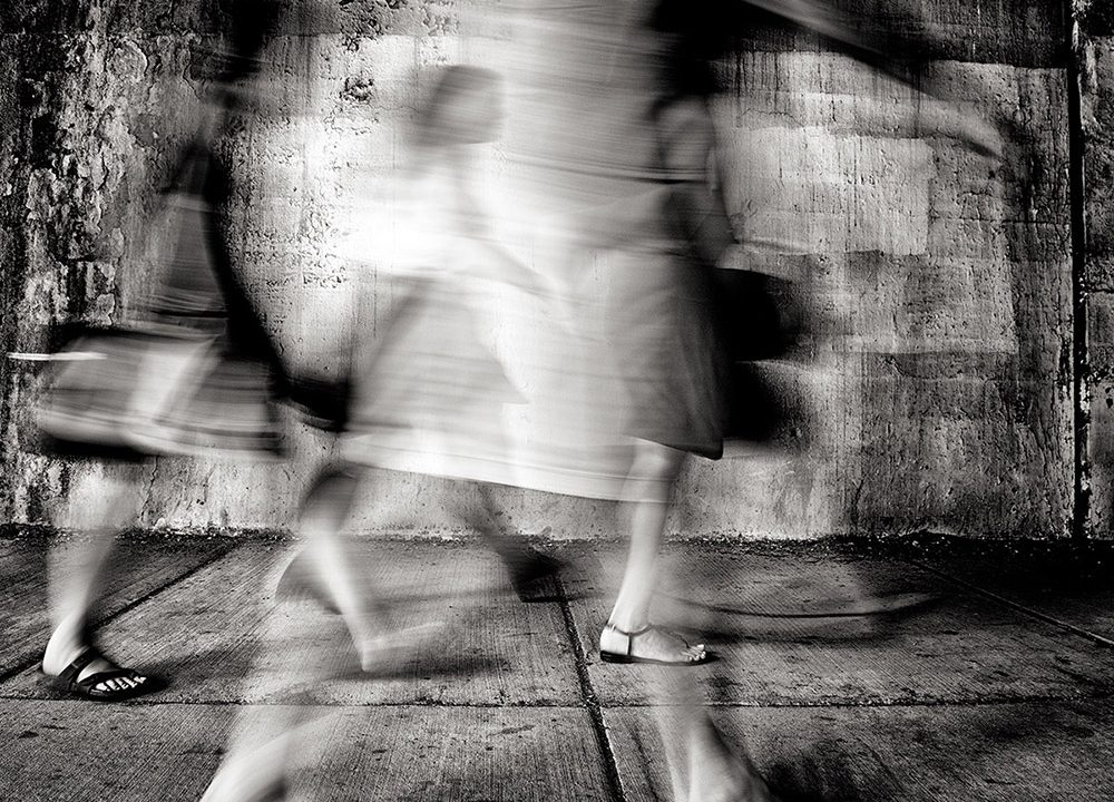 One-Sixth of a Second ; Street photography by Steve Geer