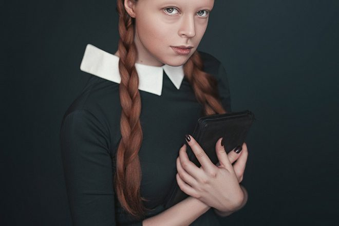 Strange Female Portraits by Tatsiana Tsyhanova