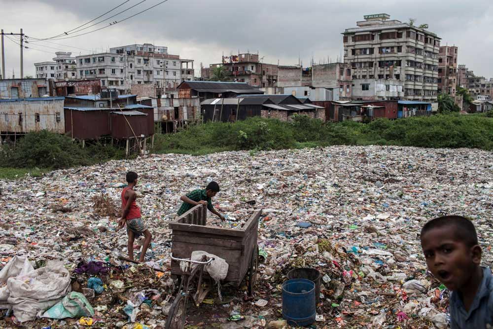 Plastic bags: Where Does It Go? by Probal Rashid