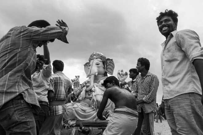 Life At Marina Beach By Mahesh Balasubramanian
