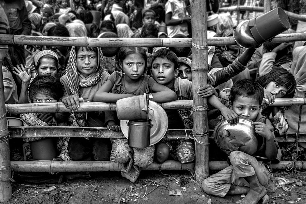 Rohingya Refugee Crisis in Bangladesh by Larry Louie