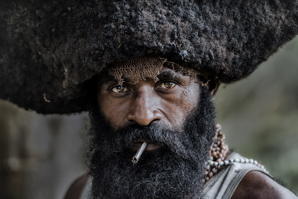 Tribal portraiture by Trevor Cole
