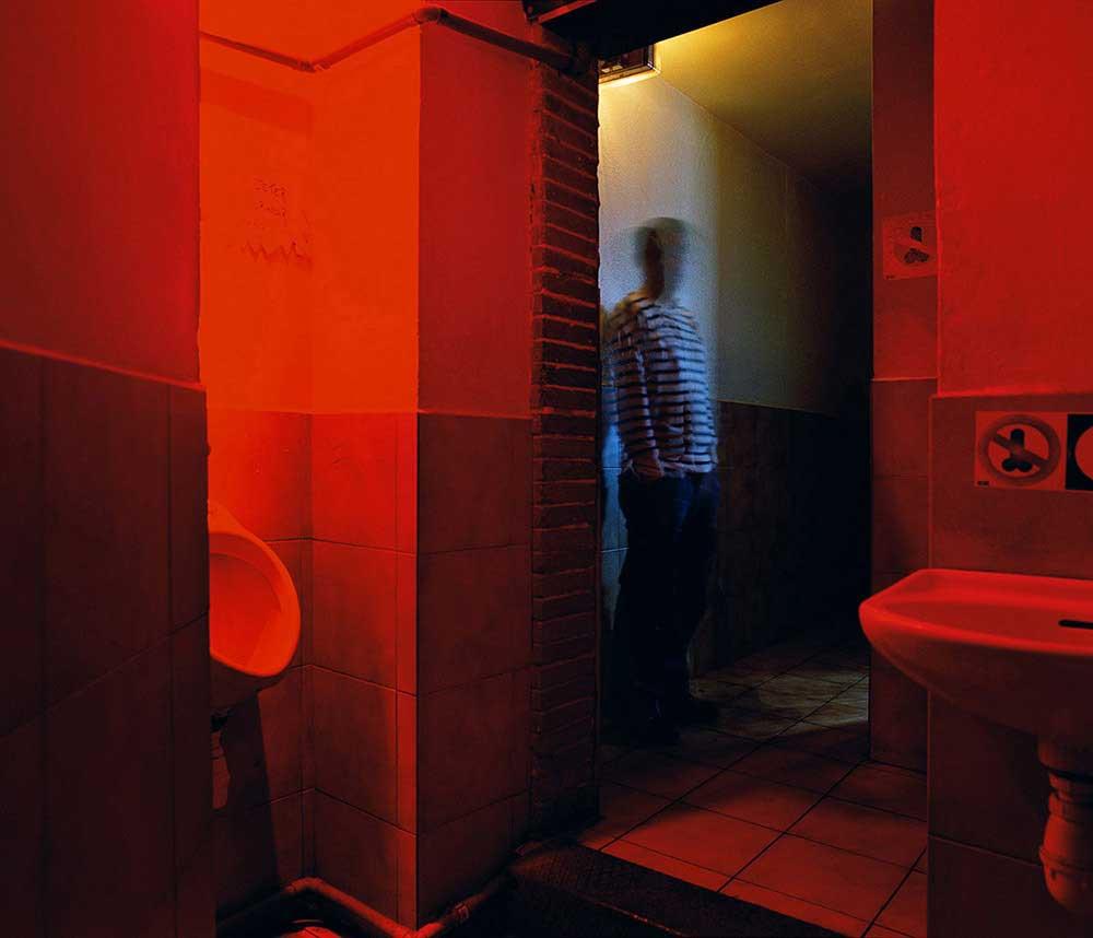 Gay bar dark room