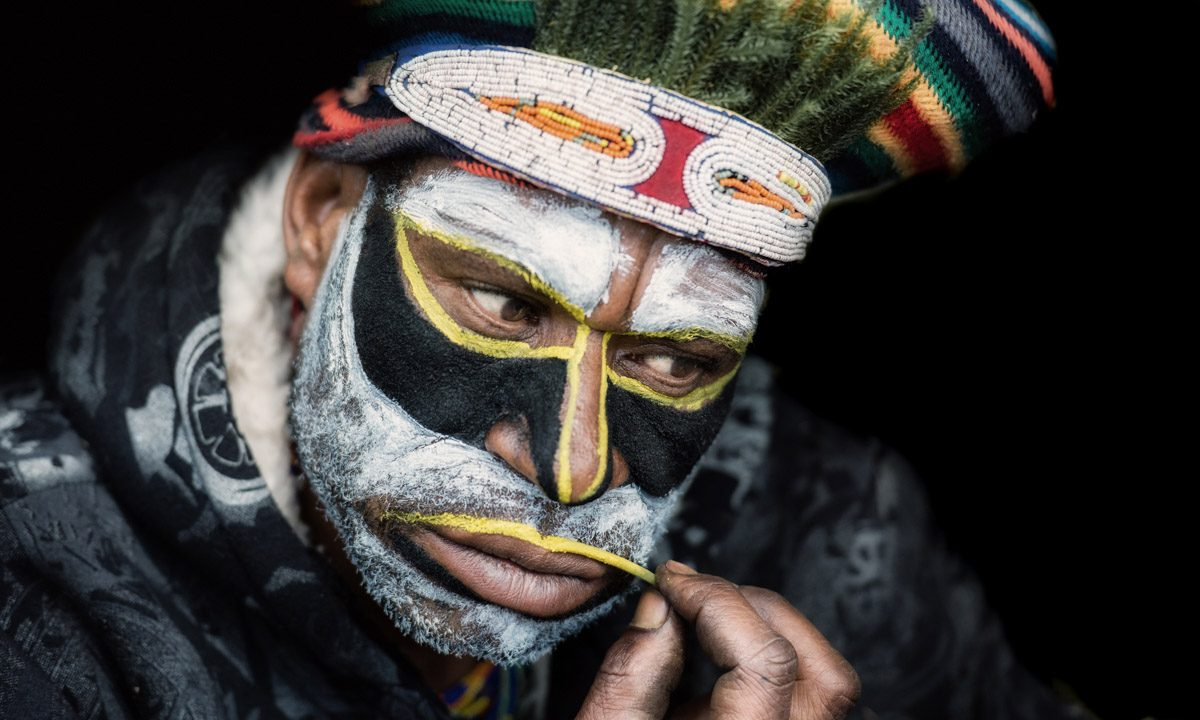 Body art – a tribal ritual by Trevor Cole