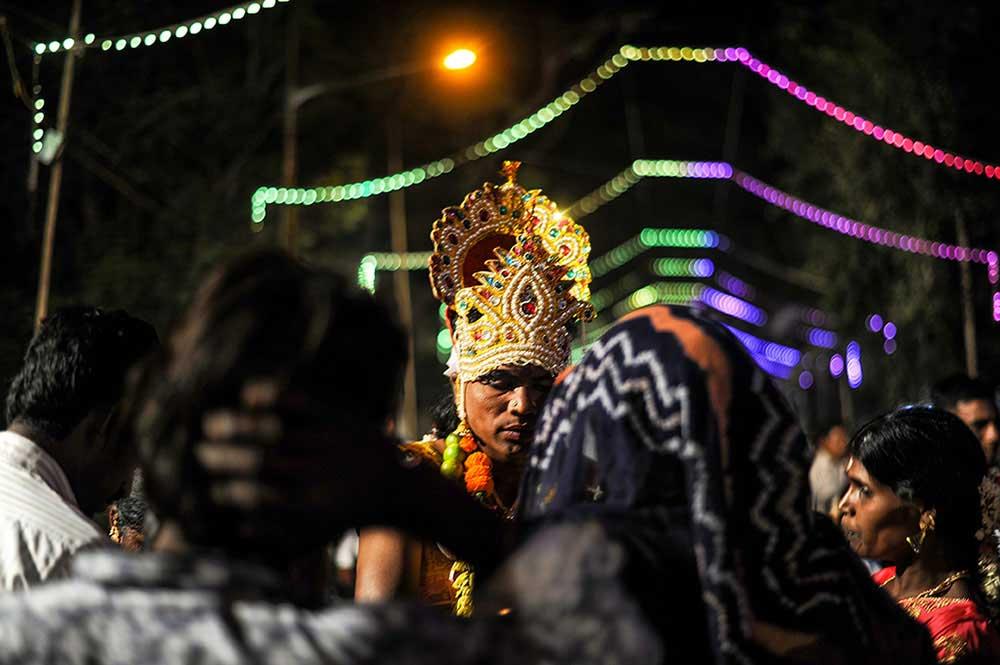 Kavadi Aatam of the Tamil Diaspora in Mumbai by Uday Tadphale