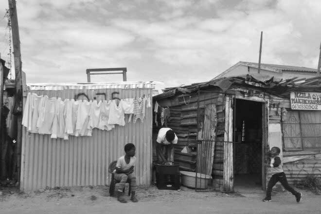Khayelitsha Township  by Florence Gallez