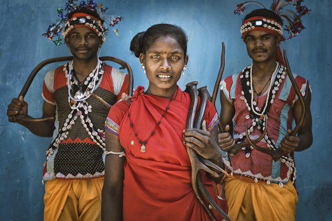 The Tribal Heartland of India by Tania Chatterjee