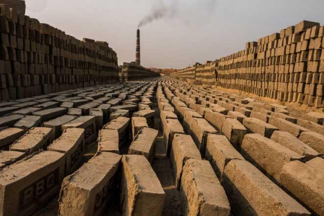 Brick by Brick by France Leclerc