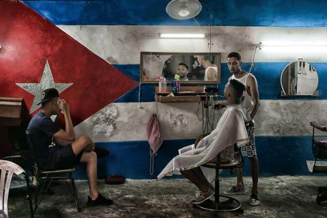 Tropical hair salons by Laurent Muschel