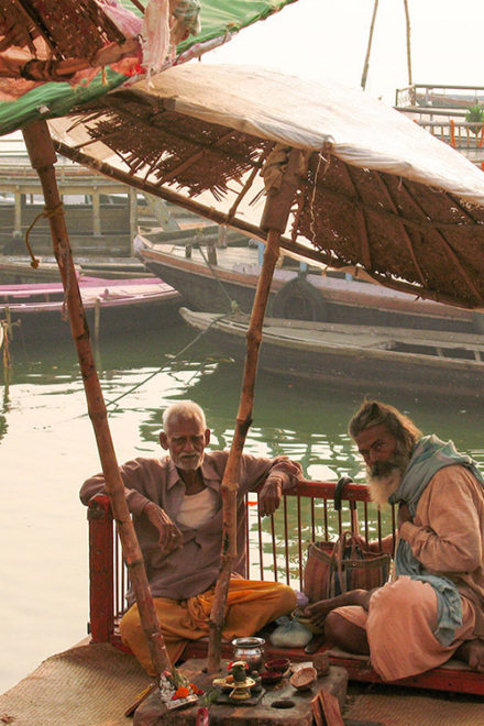 The Untold Story of Varanasi Ghats by Abhijit Bose