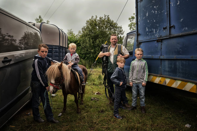 Irish Travellers by Bob Newman