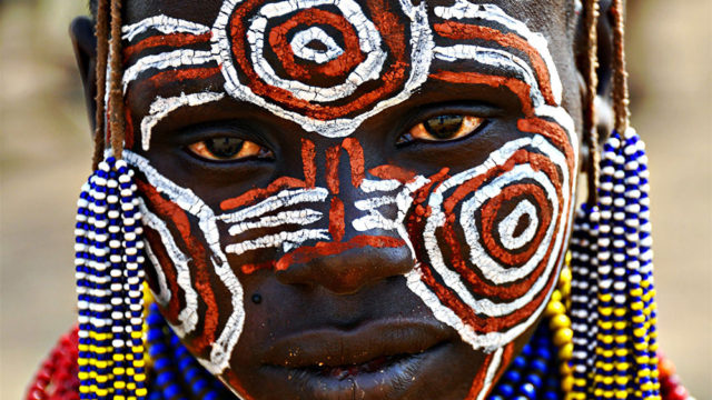 In the heart of the Omo valley tribes by Benjamin Angel