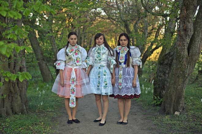 Slovakia Traditional Dresses by Zuzu Valla