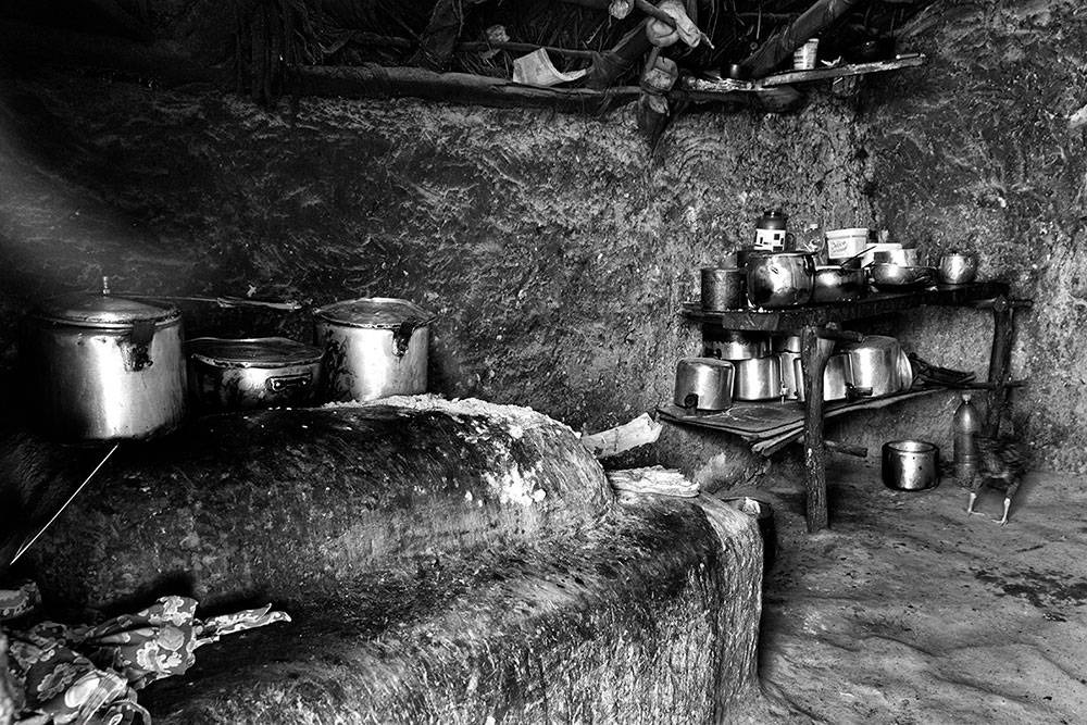 Kitchen, Pedrinha indigenous village