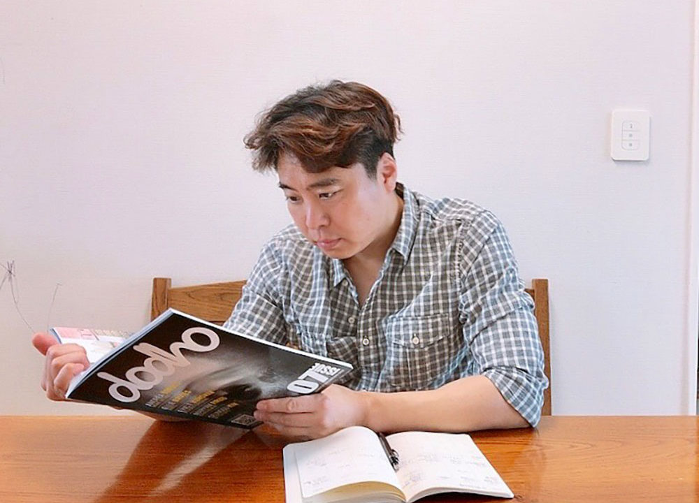 Interview with Seunguu Kim; Published in our print edition #07
