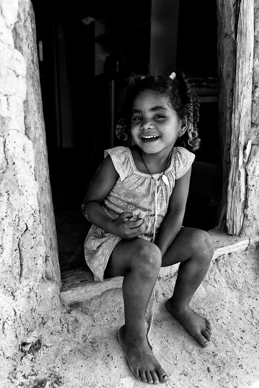 Little girl, Pedrinhaindigenous village