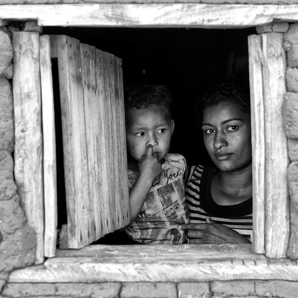 Rayelle and Carlos Daniel, Cachoeira indigenous village