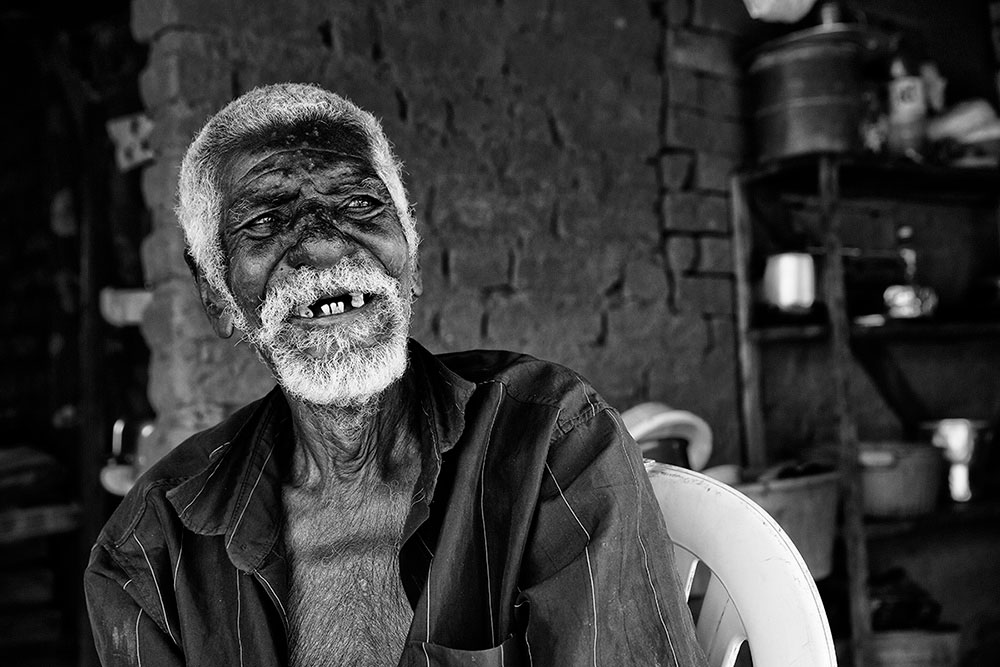 Seu Alfredo (98 years old), Cachoeira indigenous village
