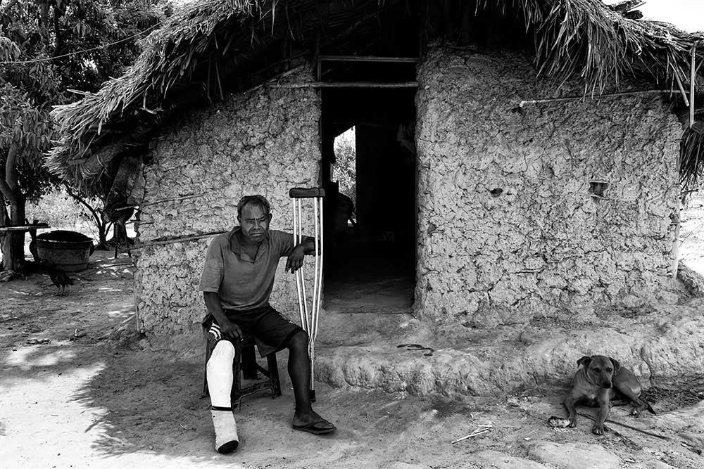 Seu Valdeci (48 yearsold), Pedrinhaindigenous village