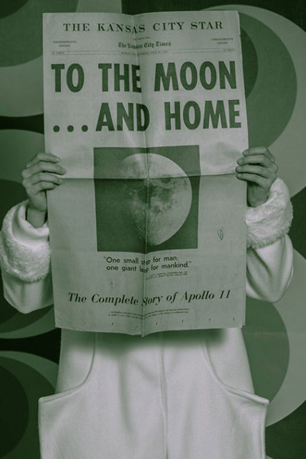To The Moon and Home by Thomas H.P. Jerusalem