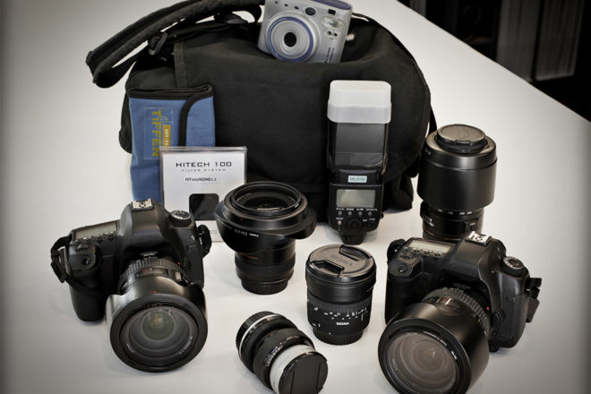 Inside the Camera Bag of Richard Murai