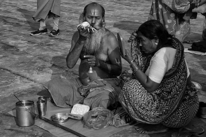 Ganga Sagar by Kaushik Dolui