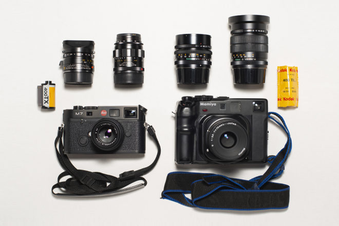 Inside the Camera Bag of Cyrille Druart