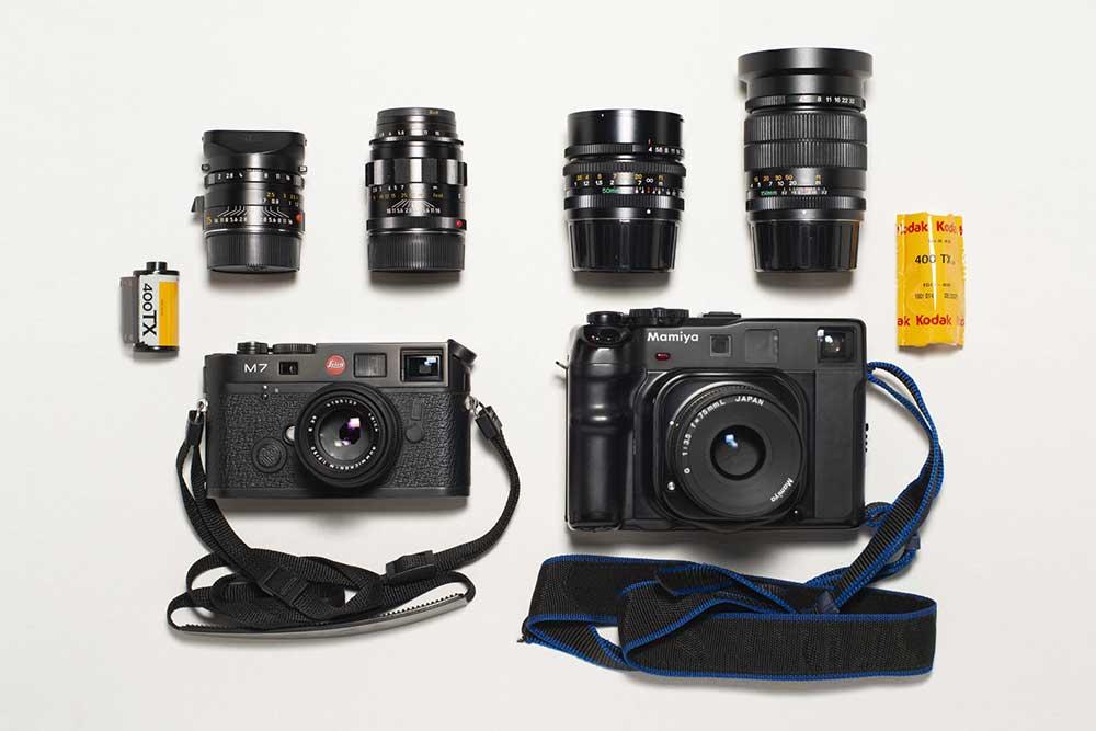 Inside the Camera Bag of Cyrille Druart