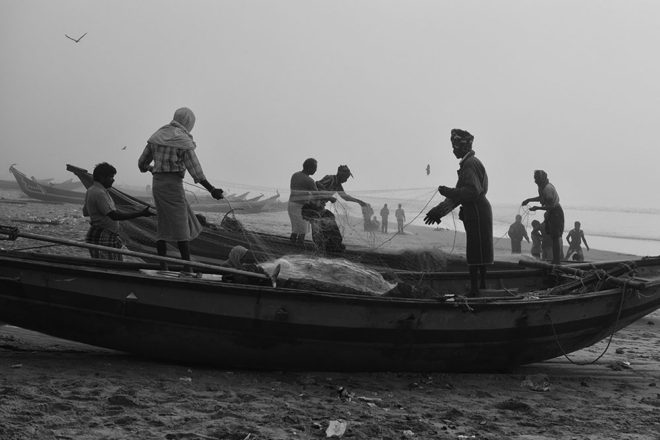 Fishing Activity by Kaushik Dolui