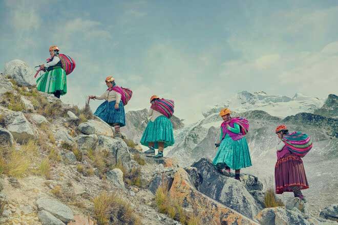 Climbing Cholitas by Todd Antony